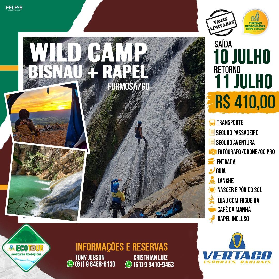 Wild Camping Bisnau