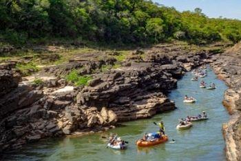 Jangadão Ecológico no Rio Araguaia